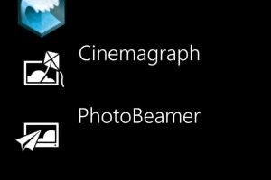 Cinemagraph and PhotoBeamer updated for Nokia Lumia WP8 (SurfCube too)