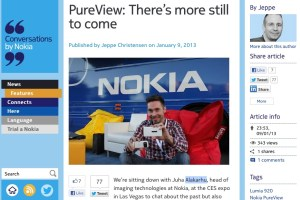 "NokConv: ""PureView: There's more still to come"""