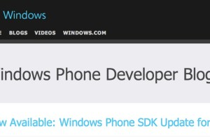 WP Developer Blog: Windows Phone SDK Update for 7.8 now available