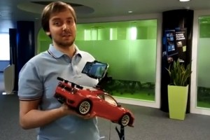 Video: Stabilisation test, Samsung Galaxy SIV vs Nokia Lumia 920 on a toy car