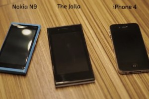 Video: Hands on with The Jolla Phone (vs Nokia N9, iPhone) #SailFish