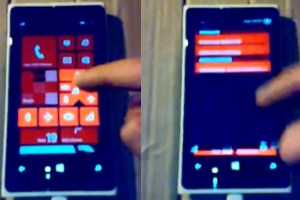 LeakyLeak: WP8.1 demoed on Nokia Lumia 920? Folders and swipe down notification centre? Real or Fake?