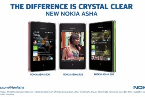 Nokia India – The New Asha Range by Nokia : Crystals on your phone