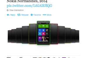 Press Render of Nokia Normandy Leaked