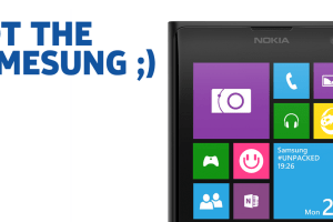 Nokia UK Already Trolling Samsung's S5 Event