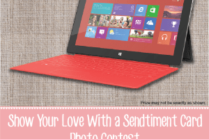 Show Your Love with a #Sendtiment Card; Win a Surface RT