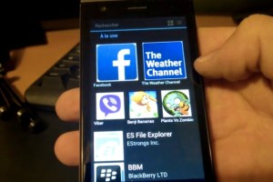 Video: Nokia X Store running on Sailfish OS #Jolla #Android