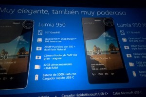 Lumia 950 and 950 XL + Specs Detailed in Leaked Slide