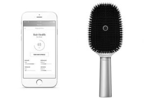 Nokia at CES: Withings and L'Oréal Bluetooth Hairbrush… You're brushing  your hair wrong!