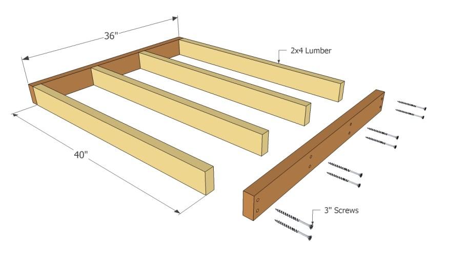 building a simple wooden desk