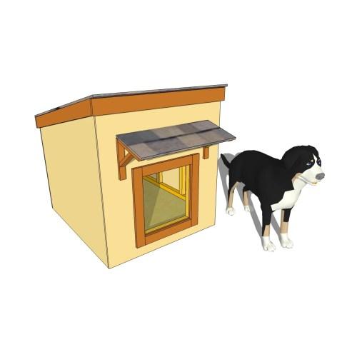 Medium Crop Of Large Dog House