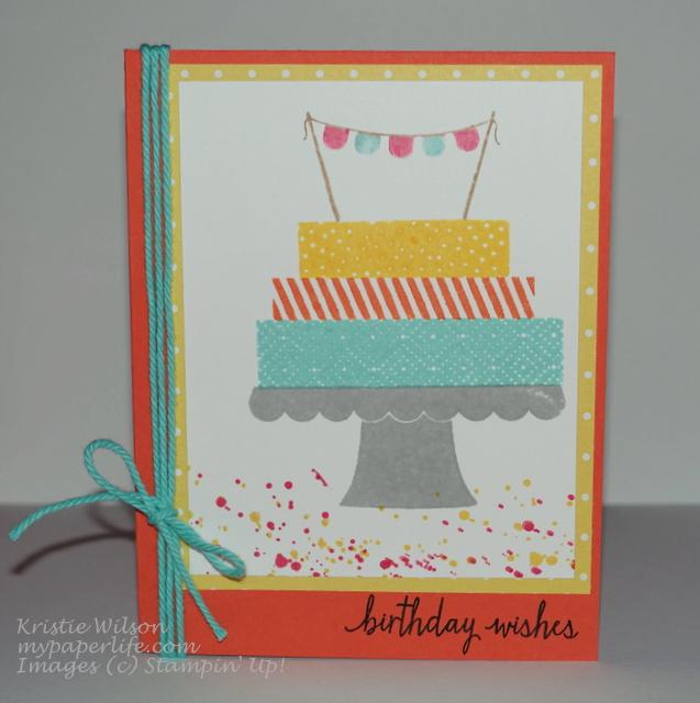 2015 Card 38 - SU Build a Birthday