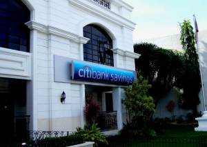 Citibank Savings Branch in Iloilo City, Philippines