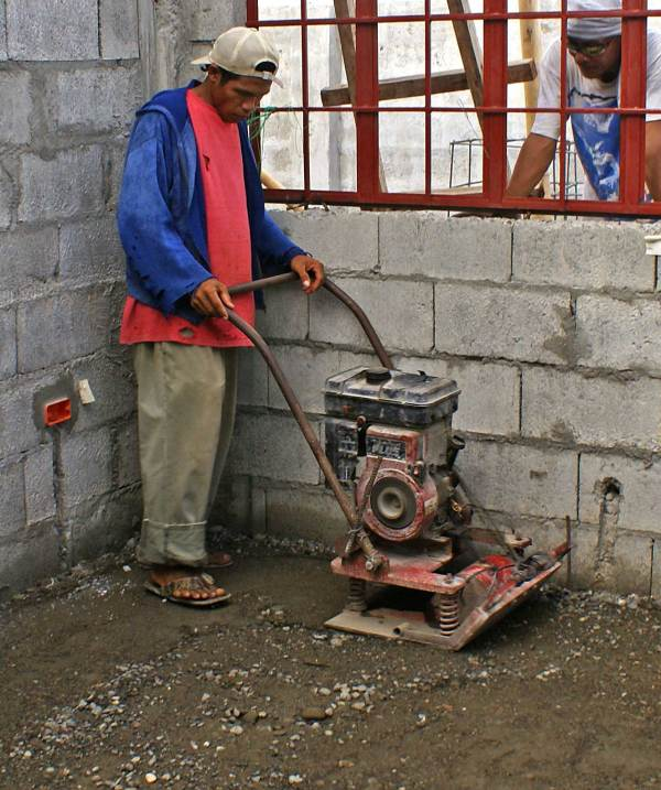 """modern"" gas powered compacting"