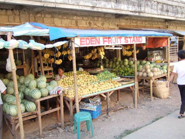 Guimaras Island is famous for its mangos.  We stock up at a fruit stand on our way back.