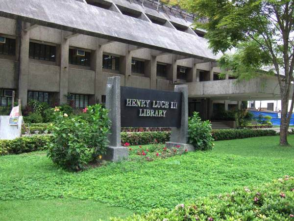 Wonderful Luce Library, Central Philippines University, Iloilo City