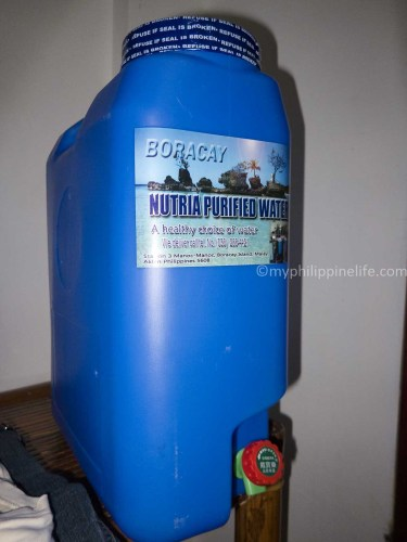 Five gallons of water for P80 delivered