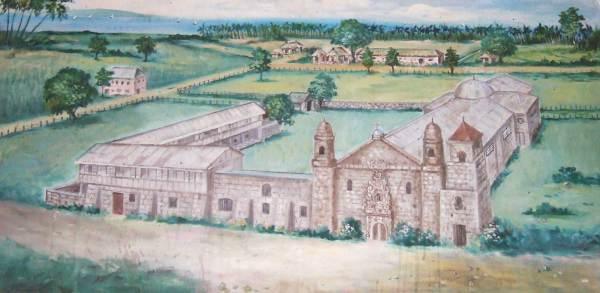 Tigbauan - Painting in Convent - Does not answer this question but is tantalizing