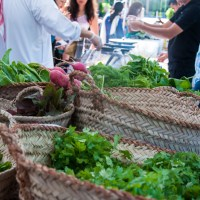 My kind of shopping - organic, local farmers market in Dubai