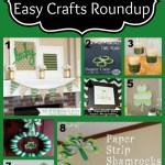 Easy St. Patrick's Day Home Decor Crafts