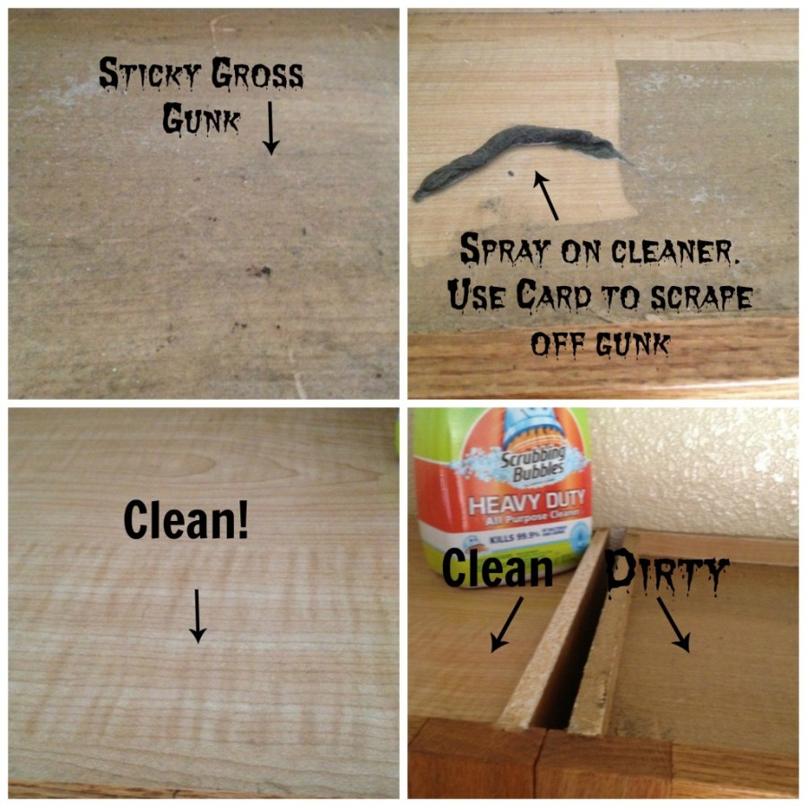 What Do You Use To Clean Grease Off Kitchen Cabinets