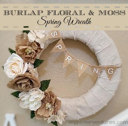 http://i2.wp.com/mypinterventures.com/wp-content/uploads/2015/04/Burlap-floral-moss-spring-wreath.jpg