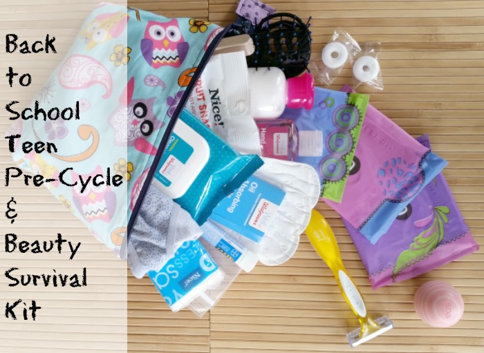 Back to School Teen Pre-Cycle & Beauty Survival Kit