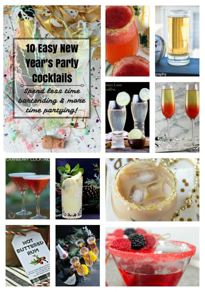 10 easy new year 39 s party cocktails for Fun easy party drinks