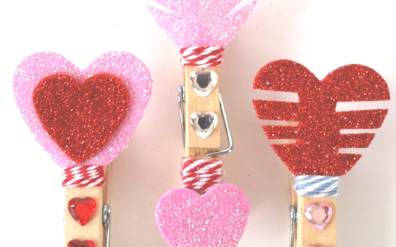 Valentine's Day Blog Hop – Arrow Clips