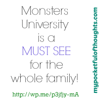 [Movie Review] Lessons to Learn from Mike & Sully from Monsters University!