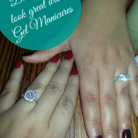 Get a Gel mani if you're waiting on a ring ladies!