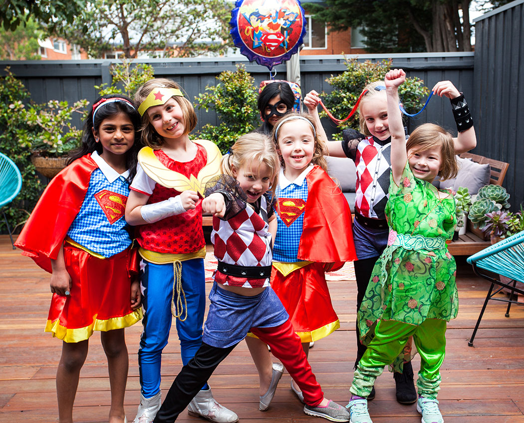 Emma's 'DC Super Hero Girls' Party – Fun Party Food, Decorating & Activity Ideas + GIVEAWAY