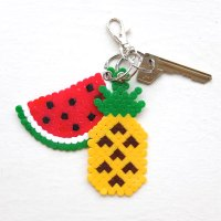 DIY Gift Idea: Fun Fruit Keyrings
