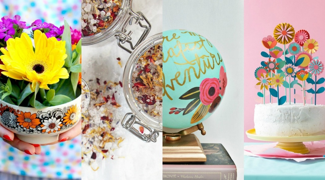 8 Gorgeous Floral Gifts to Make this Mother's Day