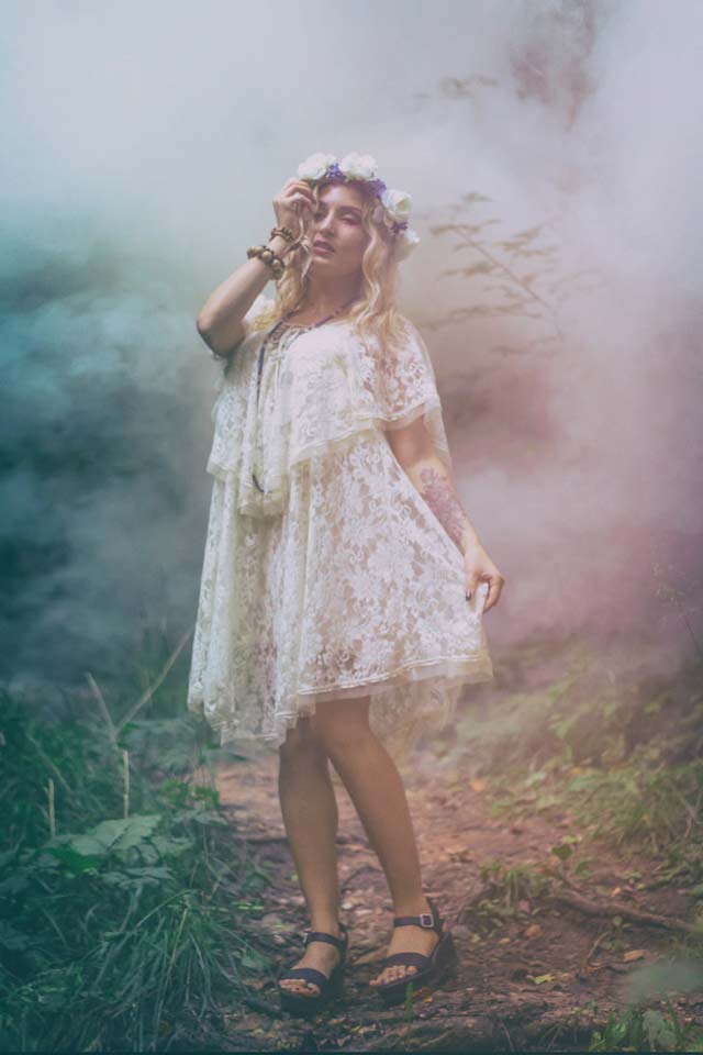 Girl Portrait photography in Fog