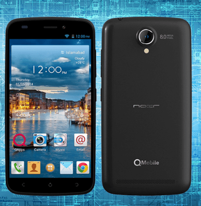 QMobile Noir A900i Latest Price in Pakistan Specifications & Features Images
