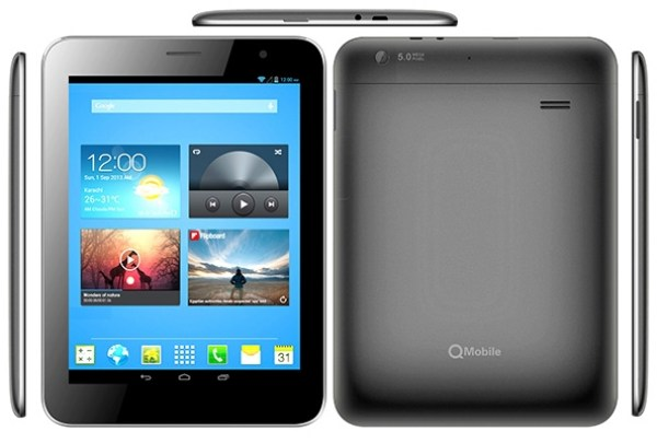 QMobile Q120 Tab Price in Pakistan Colors Features Memory Pics Specs