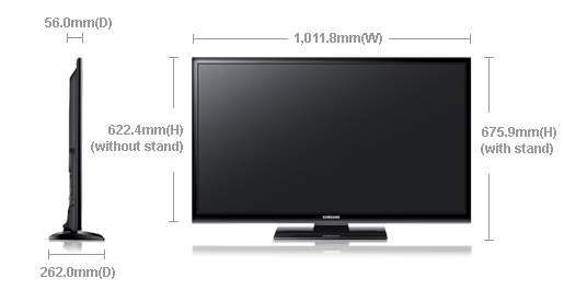 "Samsung 43E400 43"" Inches Plasma LCD TV Price in Pakistan Specs Features Pictures"