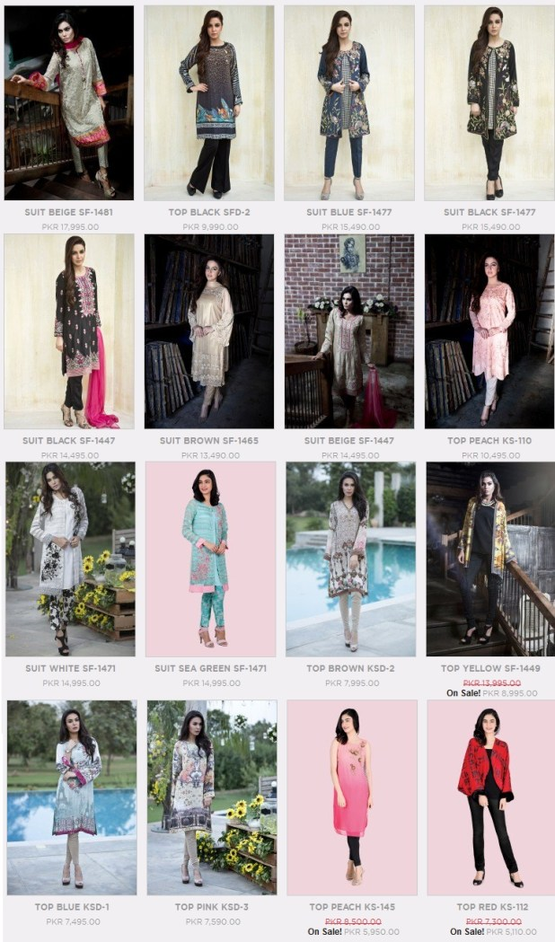 Maria B Winter Casual Formal Collections 2016 Price In Pakistan New Arrivals Reviews