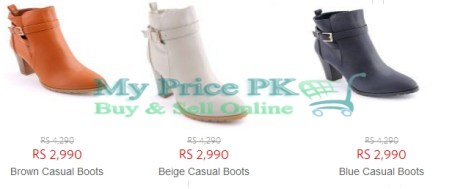 Stylo Ladies Boots New Arrivals And Latest Designs Price In Pakistan Colors Reviews