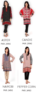 Sana Safinaz Dresses Black & Gold Basic Ladies Collection Winter Arrival with Price