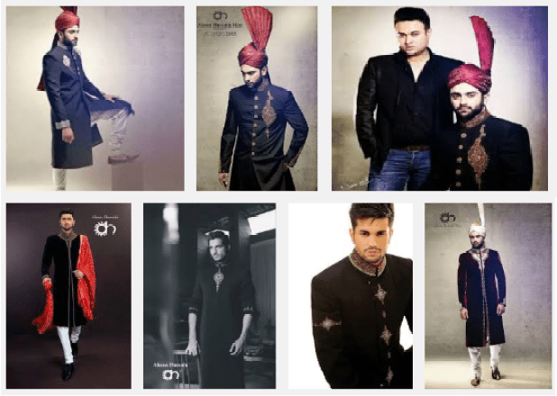 Mens Couture and Sherwani Collections By Ahsan Hussain Summer Upcoming Dresses