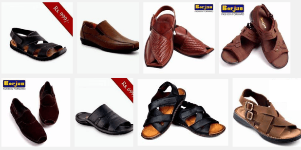 Eid Gents Shoes Collection 2016 Summer Session Comfortable Formal and Casual Sandal Boots
