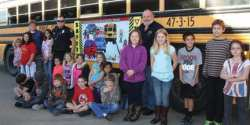"Mena Public Schools Celebrates ""Bus Safety Week"""