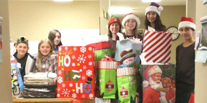 "County 4-H Clubs Giving Back with ""Santas for Seniors"""