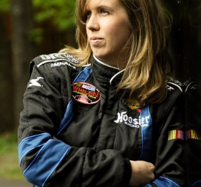 Former Whelen Modified Tour driver Renee Dupuis, returns to home track, Thompson Speedway