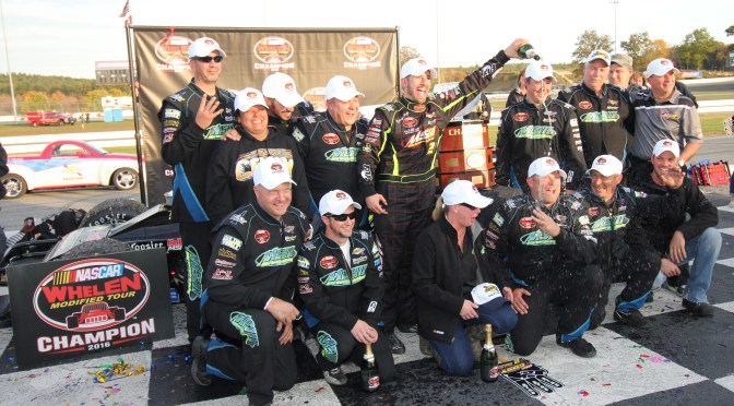 Coby makes history, wraps up third consecutive Whelen Modified title in Thompson