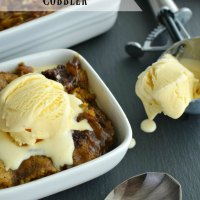 Pumpkin Chocolate Cobbler