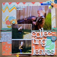 Using Larger Photos on Your Scrapbook Layouts