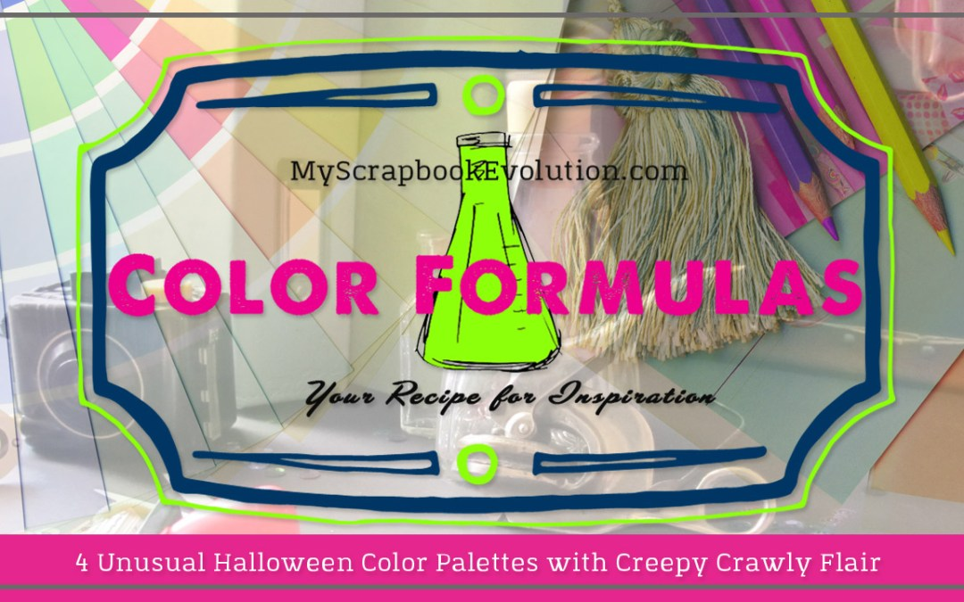 4 Unusual Halloween Color Palettes with Creepy Crawly Flair